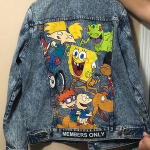 Members Only x Nickelodeon